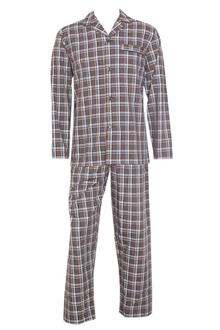M & S Man Gray Mix L/Sleeve Men Pyjamas