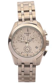 Tissot Silver Ladies Chronograph Watch
