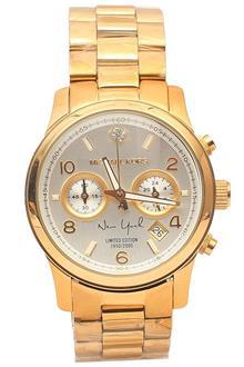 Michael Kors Gold Ladies Chronograph Watch